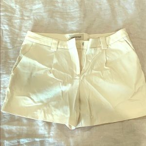 Lands' End white/cream shorts